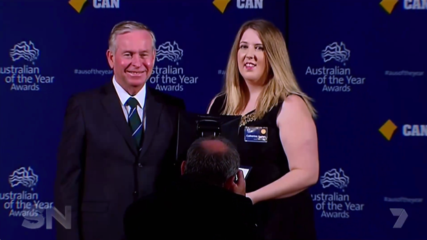 Catherine was named WA's Young Australian of the Year