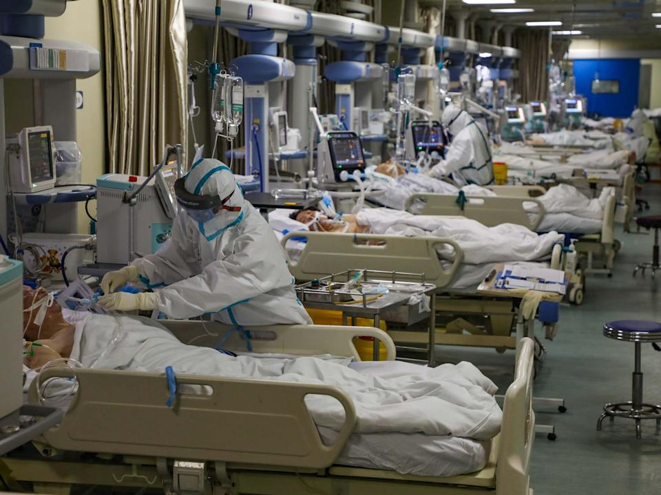Italy has recorded more deaths from coronavirus than China and seen intensive care departments overwhelmed: EPA