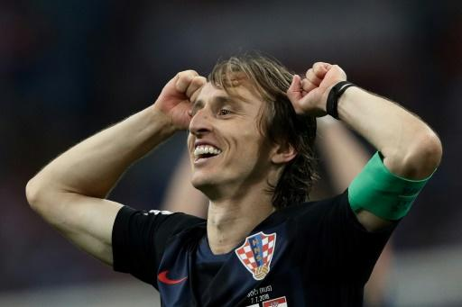 Luka Modric is hoping to lead Croatia to World Cup glory