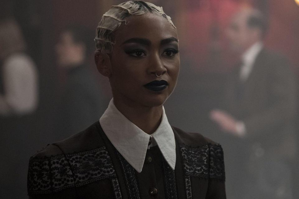 Tati Gabrielle as Prudence Blackwood in Chilling Adventures of Sabrina. Could she be the best pop culture witch?