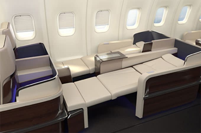 The full recline is desirable. Photo: Four Seasons