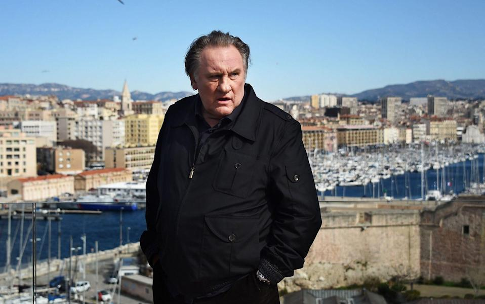 Gérard Depardieu photographed in Marseille, 2018 - Getty