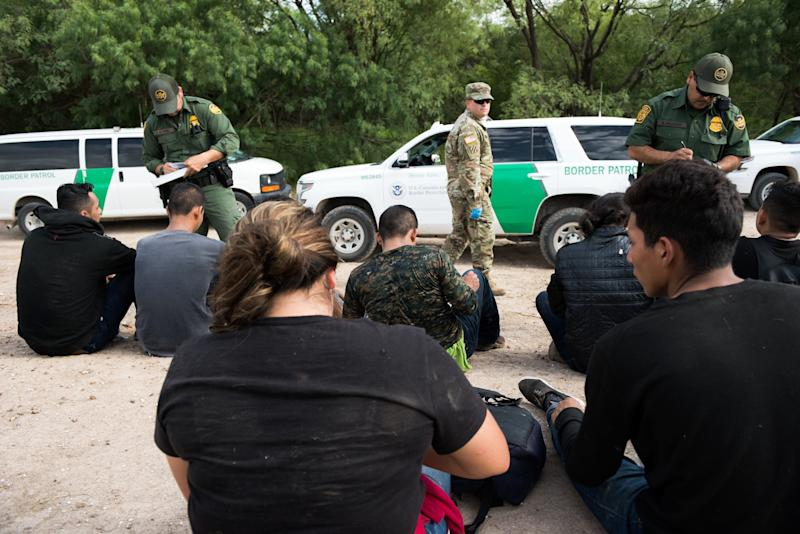 MCALLEN, Texas – Border Patrol agents apprehend migrants who entered the United States illegally and attempted to evade capture. The Rio Grande Valley Sector is one of nine Border Patrol Sectors along the United States southwest border.