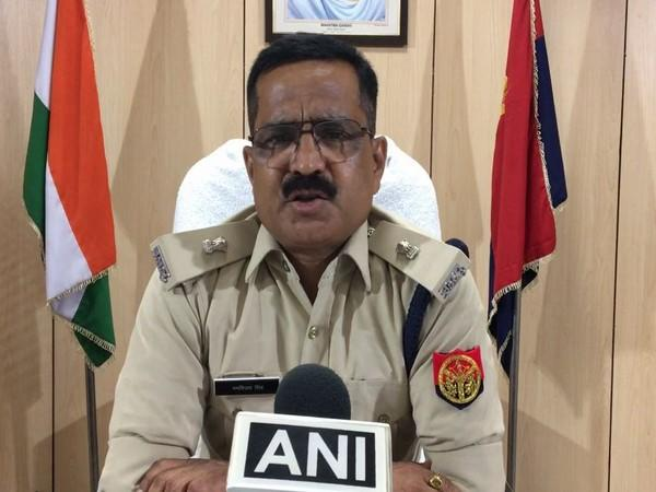 Ranvijay Singh, Additional Deputy Commissioner of Police (DCP), Noida, speaking to ANI on Sunday. Photo/ANI