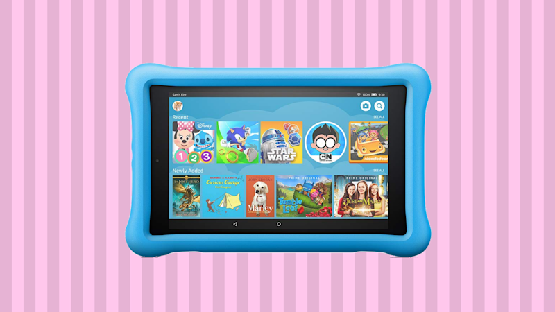Save 38 percent on the Fire HD 8 Kids Edition! (Photo: Amazon)