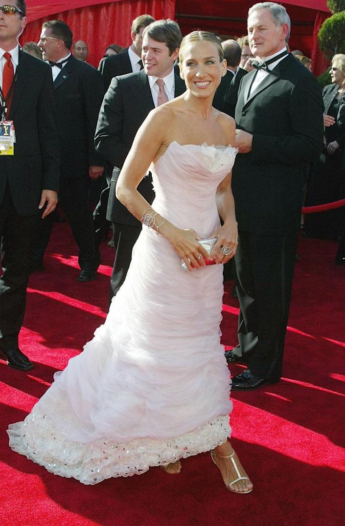 At the 55th Emmy Awards, September 2003