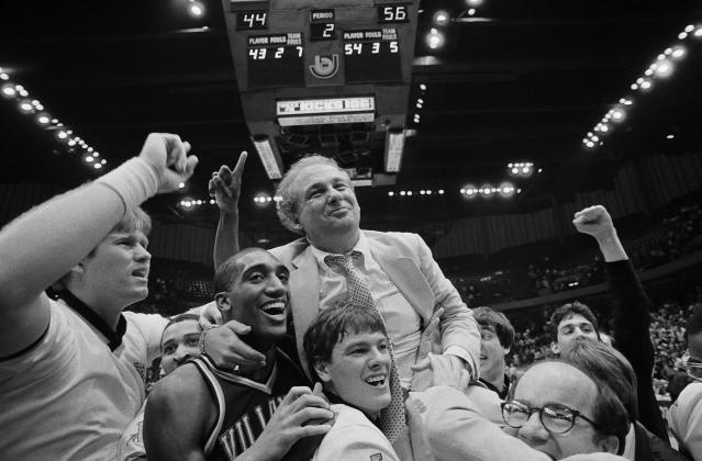 <p>Rollie Massimino (1934-2017): Hall of Fame basketball coach at Villanova, who led the Wildcats to arguably the biggest upset in college basketball history when they beat Georgetown in the 1985 national championship game. </p>