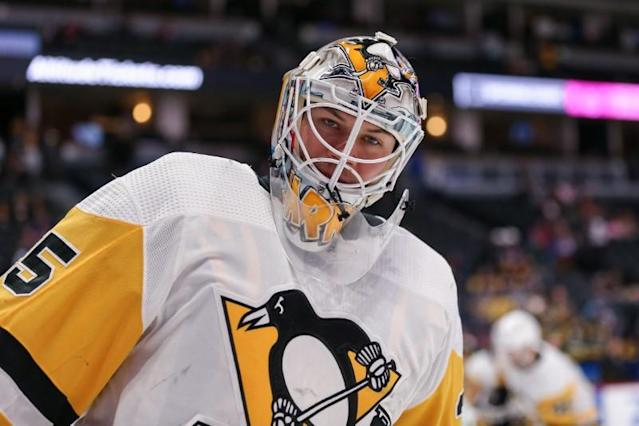 FILE PHOTO: NHL: Pittsburgh Penguins at Colorado Avalanche