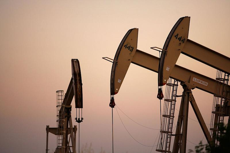 The oil price retreated further from four-year highs: David McNew/Getty Images