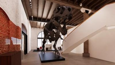 This Wednesday, April 21, almost 30 years after Stan's excavation, Great Minds will install their very own T. rex weighing approximately 1100 lbs. and standing 14 feet talland 40 feet long. The installation will be led by none other than Pete Larson and will be broadcast in real time via a livestream and Facebook Live. Please visit https://gm.greatminds.org/rvastantrex for more information.