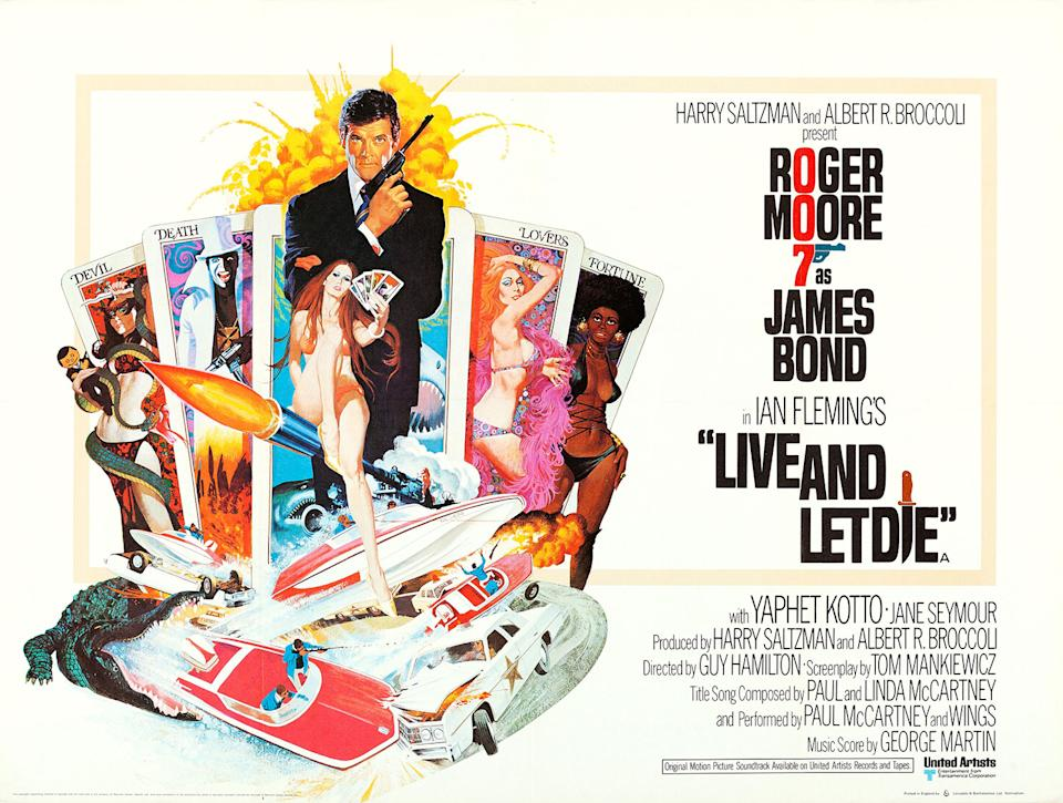 Roger Moore's Bond debut was a blaxploitation-influenced American adventure, and is one of the most delightfully weird 007 films ever. (Eon/MGM)