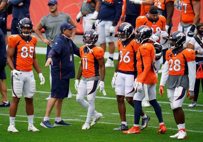 Broncos receivers facing big tests with Sutton sidelined