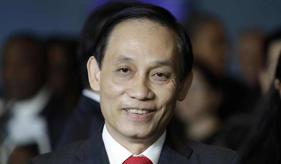 Vietnam's deputy foreign minister Le Hoai Trung says his country is considering legal action against China. Photo: Xinhua
