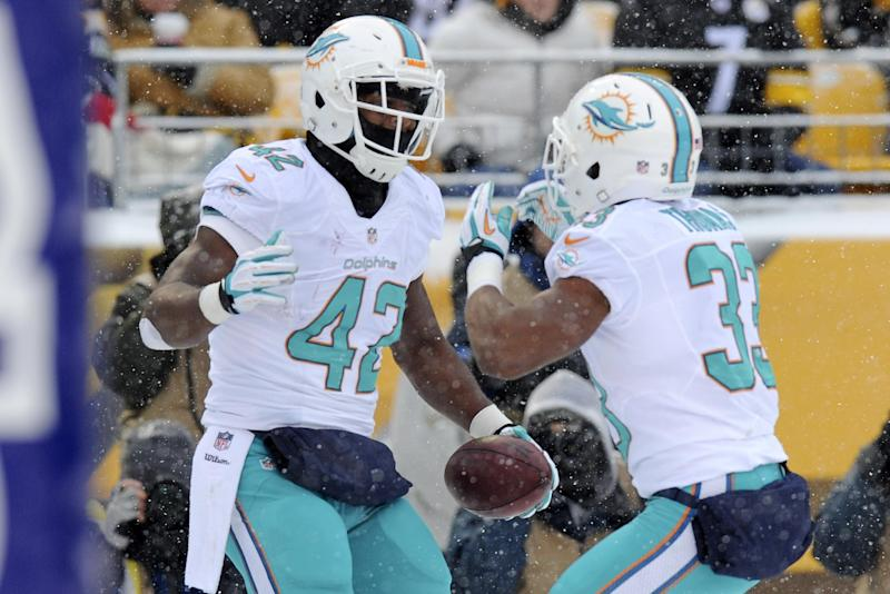 TE Clay gives Dolphins much-needed punch