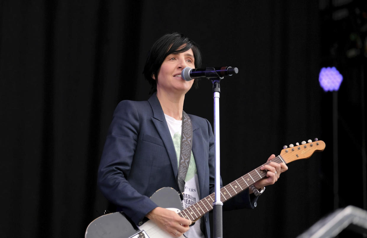 Sharleen Spiteri says she has experienced sexism while being in Texas (Photo by Dawn Fletcher-Park/Invision/AP)