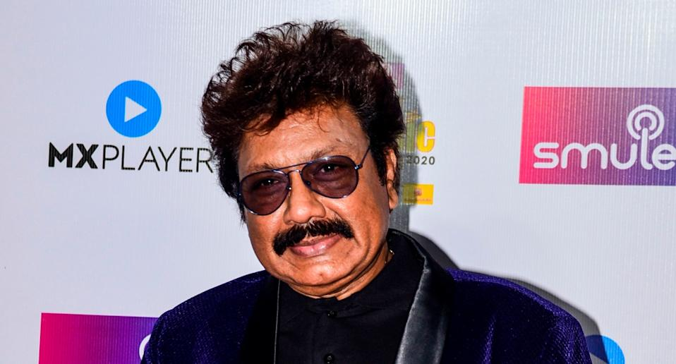 In this picture taken on February 19, 2020, music composer Shravan Kumar poses for photographs at the '12th Radio Mirchi Music Awards 2020' in Mumbai. Photo: Sujit Jaiswal/AFP via Getty Images
