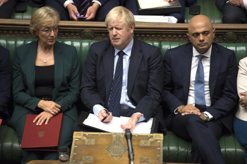 Boris Johnson lost a crucial vote on a no-deal Brexit in the House of Commons today (PA Images)