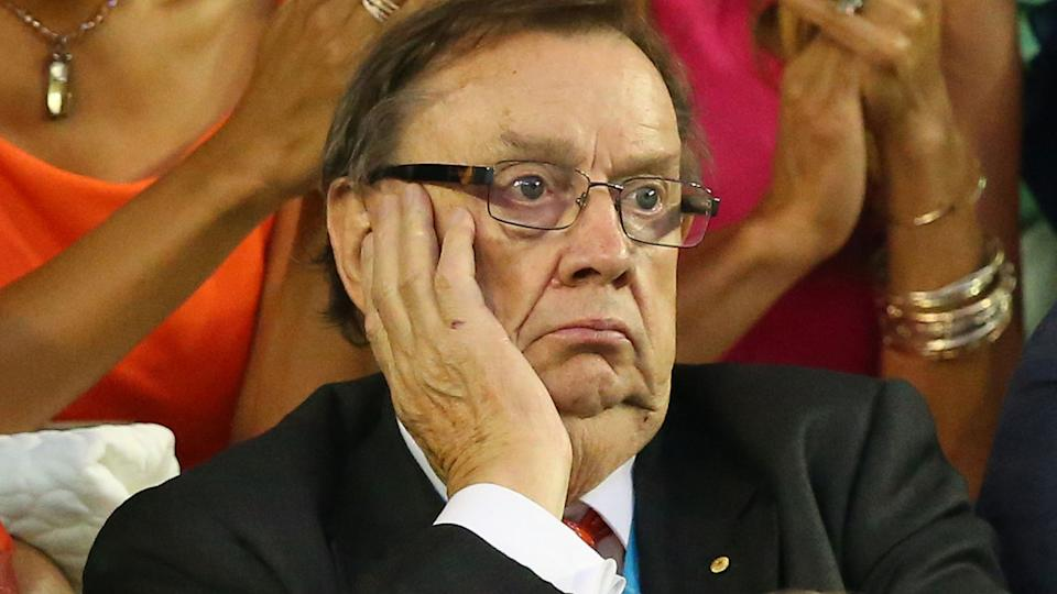 Former Tennis Australia director Harold Mitchell is pictured at the 2016 Australian Open.