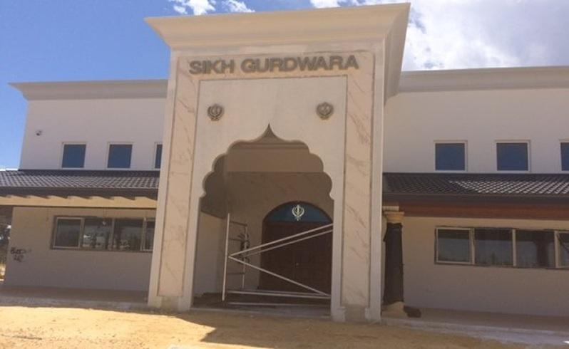 the sikh temple has been under construction in bennett springs for more than two years.