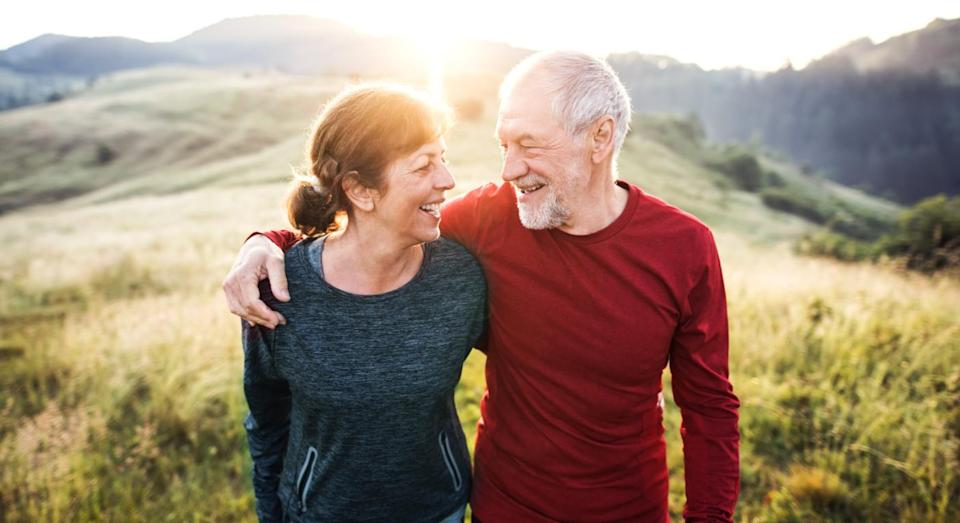 A new study reveals that people with happy wives are more likely to live a healthy, longer life. [Photo: Getty]