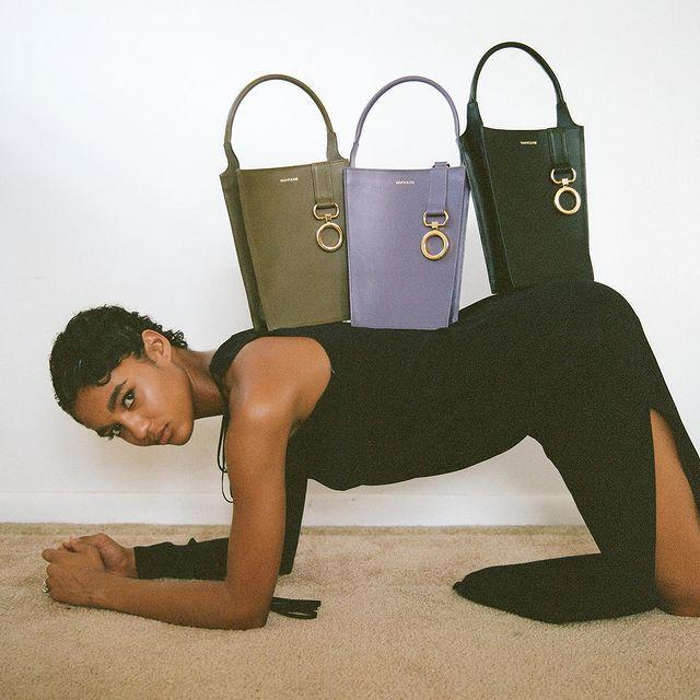 """<p>Who: Valerie Blaise</p><p>What: A 'leather accessories brand recognised by way of cultured design'.</p><p><a class=""""link rapid-noclick-resp"""" href=""""https://www.vavvoune.com/shop"""" rel=""""nofollow noopener"""" target=""""_blank"""" data-ylk=""""slk:SHOP VAVVOUNE NOW"""">SHOP VAVVOUNE NOW</a></p><p><a href=""""https://www.instagram.com/p/B_2ZpzoJ-bM/"""" rel=""""nofollow noopener"""" target=""""_blank"""" data-ylk=""""slk:See the original post on Instagram"""" class=""""link rapid-noclick-resp"""">See the original post on Instagram</a></p>"""