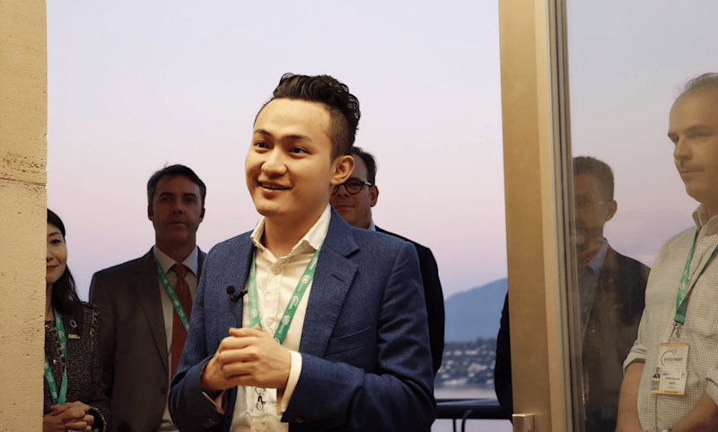 Tron CEO Justin Sun rallied behind his peer CZ after Binance suffered a $40 million hack. | Source: Twitter/Justin Sun