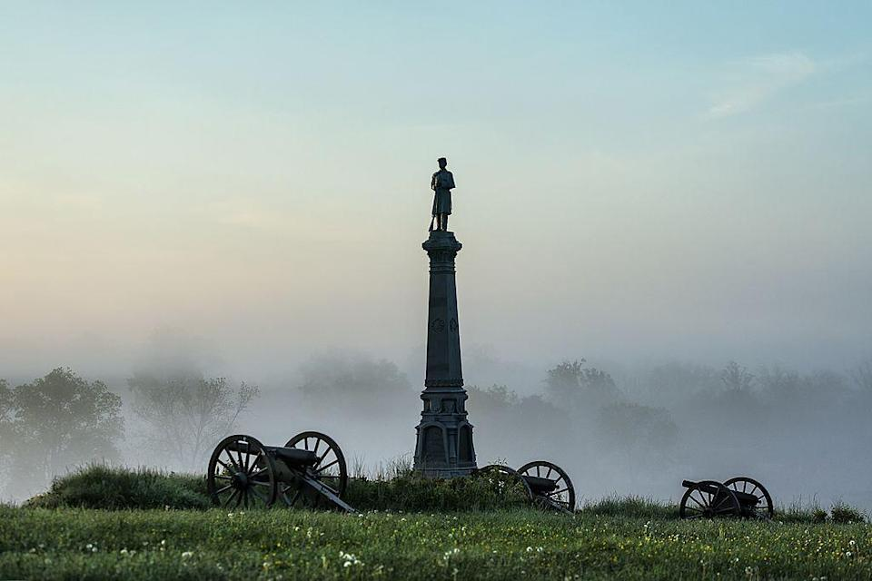 """<p>Hear some of the many historical and paranormal stories associated with the country's bloodiest Civil War battleground as you explore Gettysburg over the course of an hour. </p><p><a class=""""link rapid-noclick-resp"""" href=""""https://go.redirectingat.com?id=74968X1596630&url=https%3A%2F%2Fwww.tripadvisor.com%2FAttractionProductReview-g60798-d17719058-Civil_War_Ghosts_Walking_Tour-Gettysburg_Pennsylvania.html&sref=https%3A%2F%2Fwww.redbookmag.com%2Flife%2Fg37623207%2Fghost-tours-near-me%2F"""" rel=""""nofollow noopener"""" target=""""_blank"""" data-ylk=""""slk:LEARN MORE"""">LEARN MORE</a></p>"""