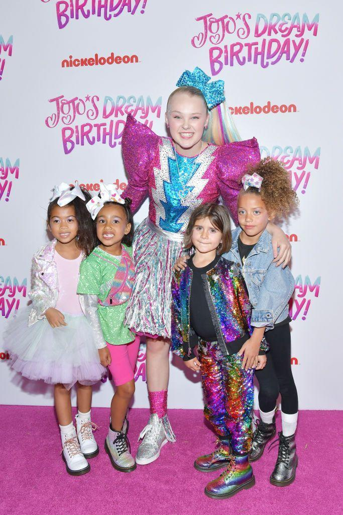 <p>Even when your parents are in the limelight, there's nothing like meeting your favorite celebrity. For North West and Penelope Disick, that person is JoJo Siwa. The young reality stars brought their friends to meet the YouTube personality, again proving that they're cooler than all of us. </p>