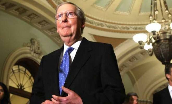 Senate Minority Leader Mitch McConnell (R-Ky.) couldn't contain his laughter upon hearing Obama's plan.