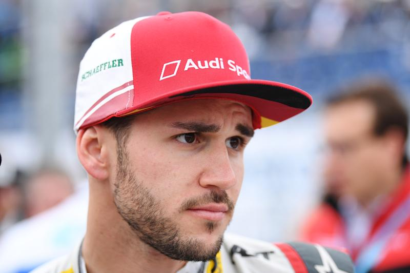 Daniel Abt brought in a ringer for a video game race and lost his real ride in the process. (Photo by Oliver Hardt/Getty Images)