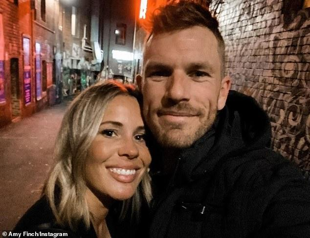 Aaron Finch's Wife Amy Finch