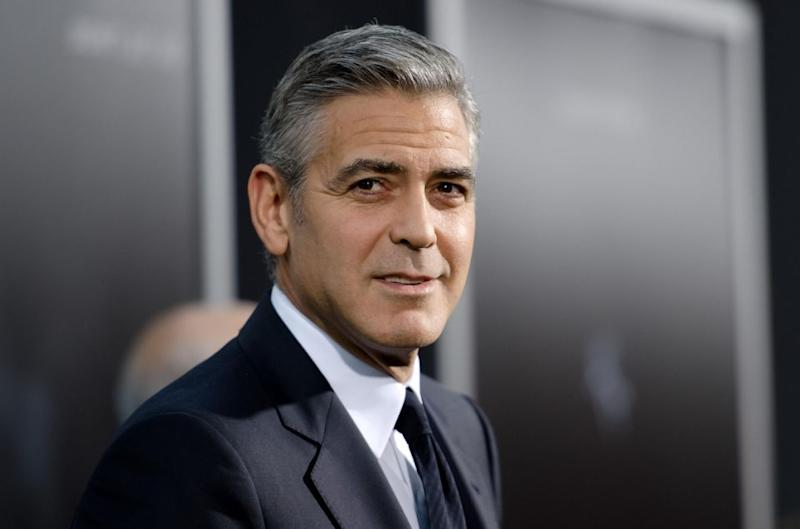 George Clooney has stood up for women's rights. Source: Getty