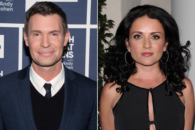 Jeff Lewis and Jenni Pulos | Charles Sykes/Bravo/NBCU Photo Bank/ via Getty; Jean Baptiste Lacroix/WireImage