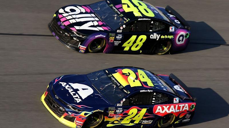 Dueling teammates: Jimmie Johnson, William Byron in playoff race