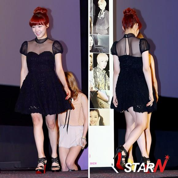 [Photo] Tiffany appearing at the press conference of 'I AM'