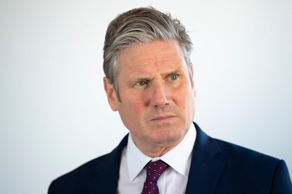 Labour leader Keir Starmer also criticised the prime minister for 'misselling' his Brexit deal (Getty Images)