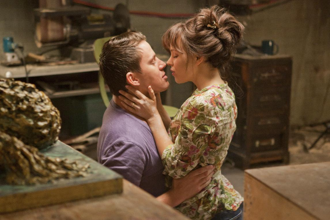 """FILE - In this file photo released by Columbia Pictures, Rachel McAdams, left, and Channing Tatum are shown in a scene from """"The Vow."""" (AP Photo/Columbia Pictures/Sony, Kerry Hayes, File)"""