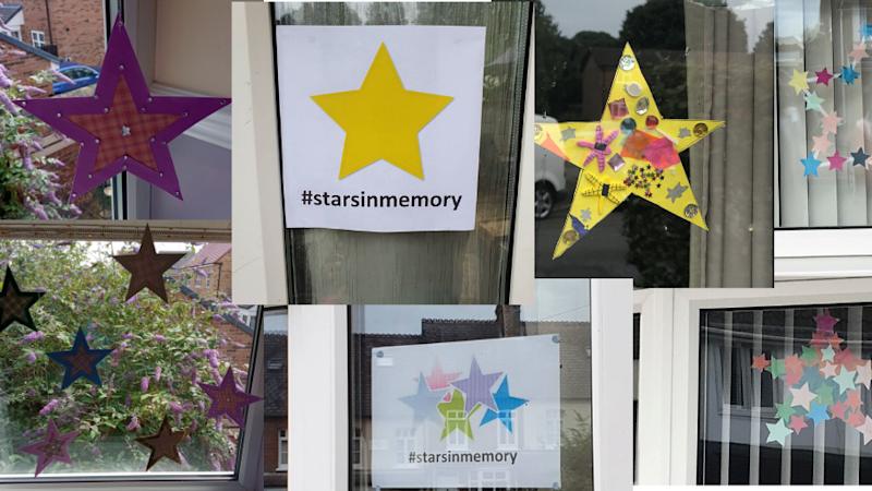 People asked to post stars in remembrance of loved ones lost during pandemic