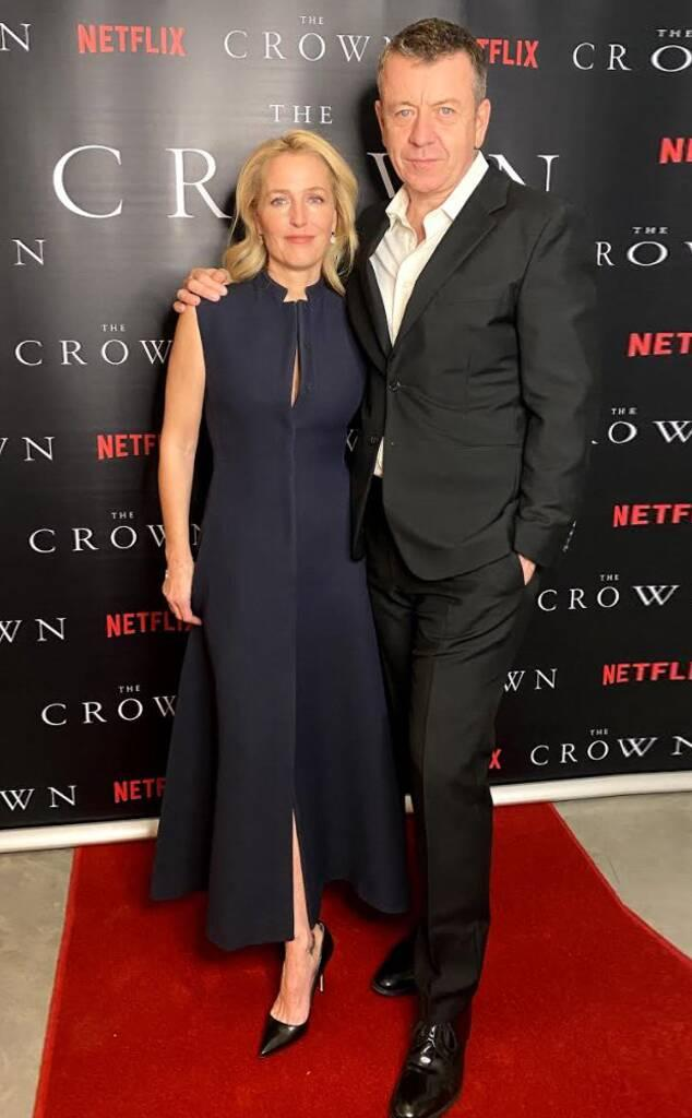 Gillian Anderson, Peter Morgan, The Crown Season 4 Premiere