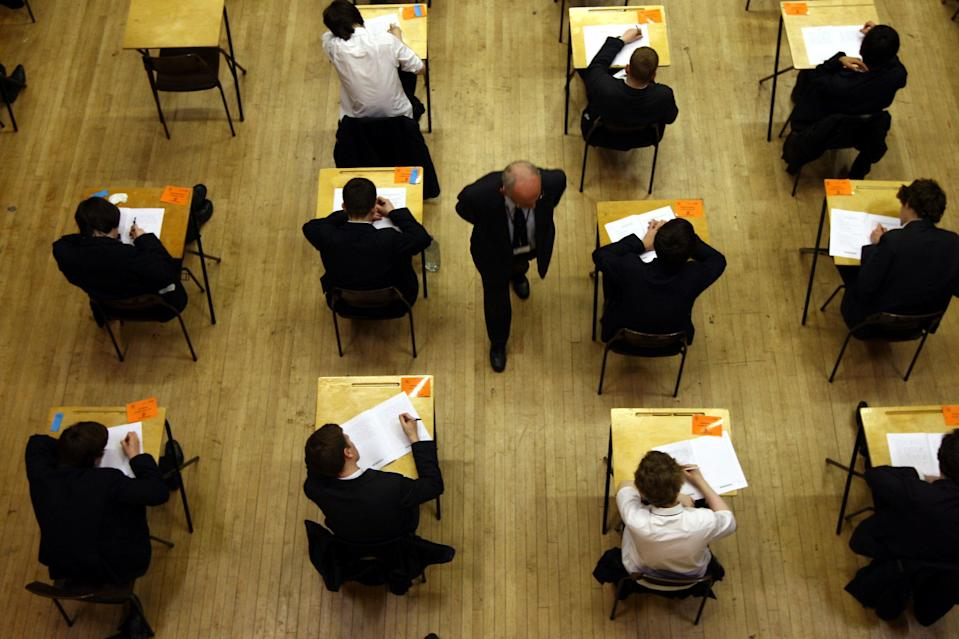 <p>Schools Minister Nick Gibb has admitted children might face disruption to exams next year</p> (PA)