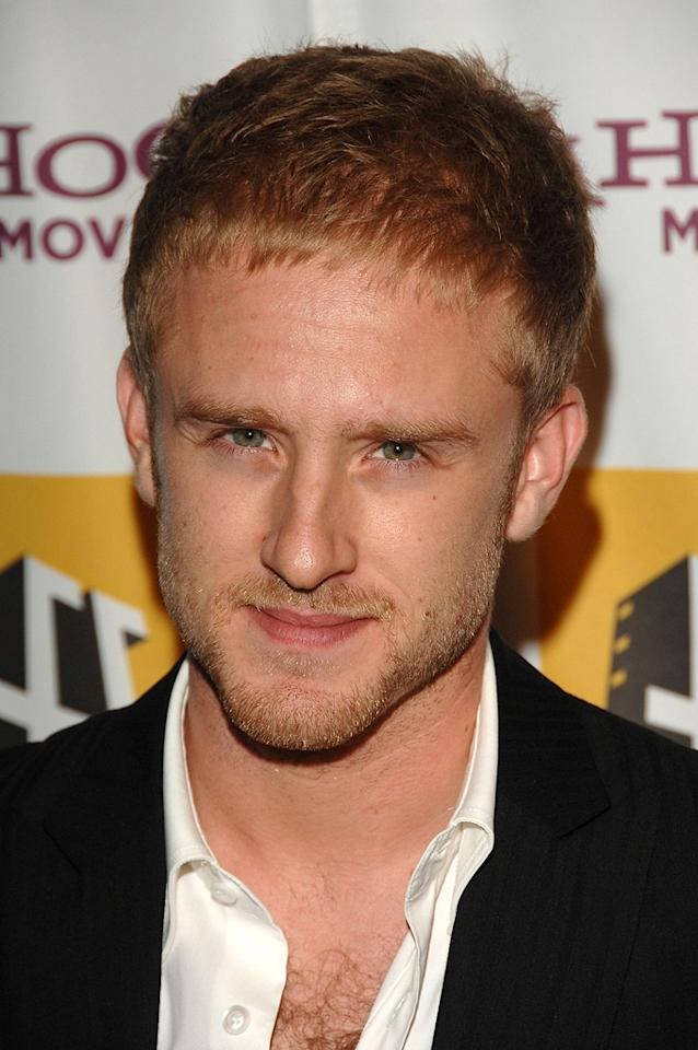 "<a href=""http://movies.yahoo.com/movie/contributor/1800332837"">Ben Foster</a> at the Hollywood Film Festival's Hollywood Awards in Beverly Hills - 10/22/2007"