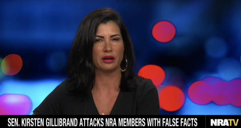 NRATV has been cancelled and host Dana Loesch is out. (Screenshot: NRATV/YouTube)