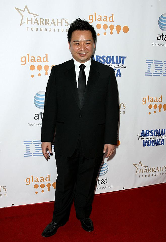 """Rex Lee, the scene-stealing assistant to Ari Gold on """"Entourage,"""" stops for a photo op. Jordan Strauss/<a href=""""http://www.wireimage.com"""" target=""""new"""">WireImage.com</a> - April 26, 2008"""