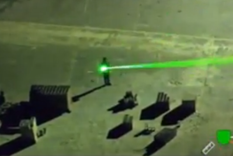 A man was arrested for shining lasers at planes: Manatee County Sheriff