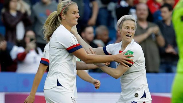 After rampaging through group play, the US Women's National Team begins the knockout stage of the 2019 FIFA Women's World Cup on Monday.
