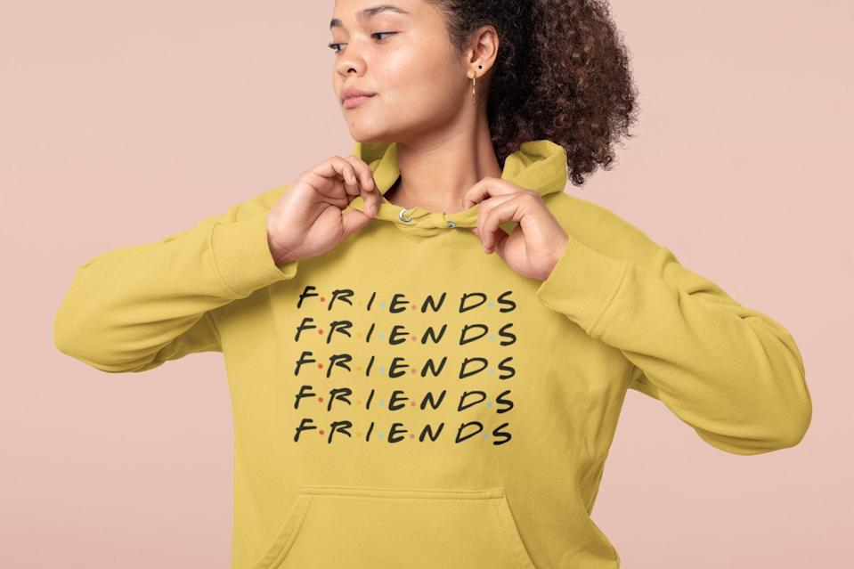 <p>Gift this <span>Friends Hoodie</span> ($32 and up) to all your BFFs.</p>