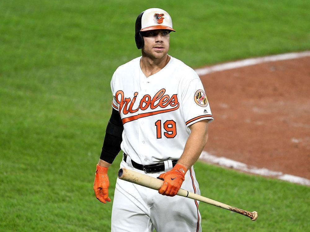 78856479c Orioles slugger Chris Davis finishes with MLB-worst .168 average