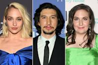 "<p><b>Jemima:</b> ""My best day was the day that I experienced what it's like to be picked up [in the air] by Adam Driver.""</p> <p><b>Lena:</b> ""I like it too. Adam Driver cradled me like a ... baby for, like, eight takes, and I won't lie, it felt good.""</p> <p><b>Jemima:</b> ""You know the big thing that you jump over in gymnastics?""</p> <p><b>Jenni:</b> ""The vault.""</p> <p><b>Jemima:</b> ""That's Adam Driver. Like, you can just run and jump on it. It doesn't move, and it supports you fully.""</p> <p><b>Lena:</b> ""It's like a hot-ass future-Oscar-winning vault. I'm glad we live in a world where women can reduce men to vaults …""</p> <p>— Jemima Kirke and Lena Dunham to co-writer Jenni Konner, on their favorite day of filming <em>Girls</em>, in an interview for <a href=""https://www.glamour.com/story/the-cast-of-girls-glamour-february-cover-interview"" rel=""nofollow noopener"" target=""_blank"" data-ylk=""slk:Glamour"" class=""link rapid-noclick-resp""><em>Glamour</em></a> </p>"