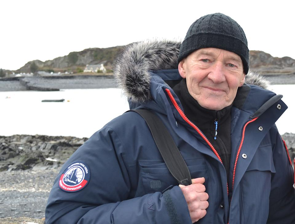 From STV   WONDERS OF SCOTLAND WITH DAVID HAYMAN Ep2 Lewis and Harris: The Outer Hebrides Tuesday 14th September 2021 on ITV   Pictured: David Hayman   The Scottish film actor David Hayman continues his series exploring the scenic beauty, history and culture of Scotland with a journey to the Outer Hebrides. David heads to the Isles of Lewis and Harris to discover the hardships of crofting, the art of tweed weaving as well as how local artists gain inspiration from the landscape - before taking in the stunning scenery at Luskentyre beach.  (C) STV   For further information please contact Peter Gray peter.gray@itv.com   This photograph is © STV and can only be reproduced for editorial purposes directly in connection with the programme WONDERS OF SCOTLAND WITH DAVID HAYMAN or ITV. Once made available by the ITV Picture Desk, this photograph can be reproduced once only up until the Transmission date and no reproduction fee will be charged. Any subsequent usage may incur a fee. This photograph must not be syndicated to any other publication or website, or permanently archived, without the express written permission of ITV Picture Desk. Full Terms and conditions are available on the website www.itv.com/presscentre/itvpictures