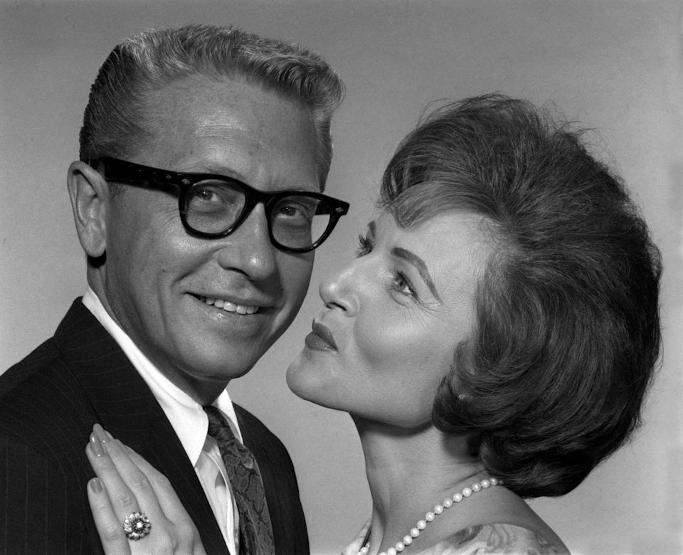 <p>After two years of dating, Betty and Allen announced their engagement in 1963. The marriage was the actress's third and Allen's second. </p>